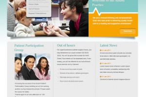 Website Design for GP Surgery