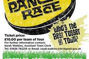 Poster Design for Annual Porthcawl Pancake Race
