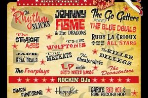 Poster Design for Porthcawl Rockabilly Festival