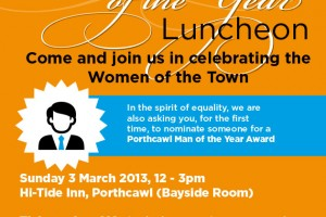 Poster Design for Porthcawl Women of the Year Luncheon