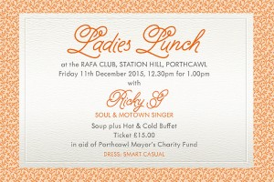 Ladies Lunch at the RAFA